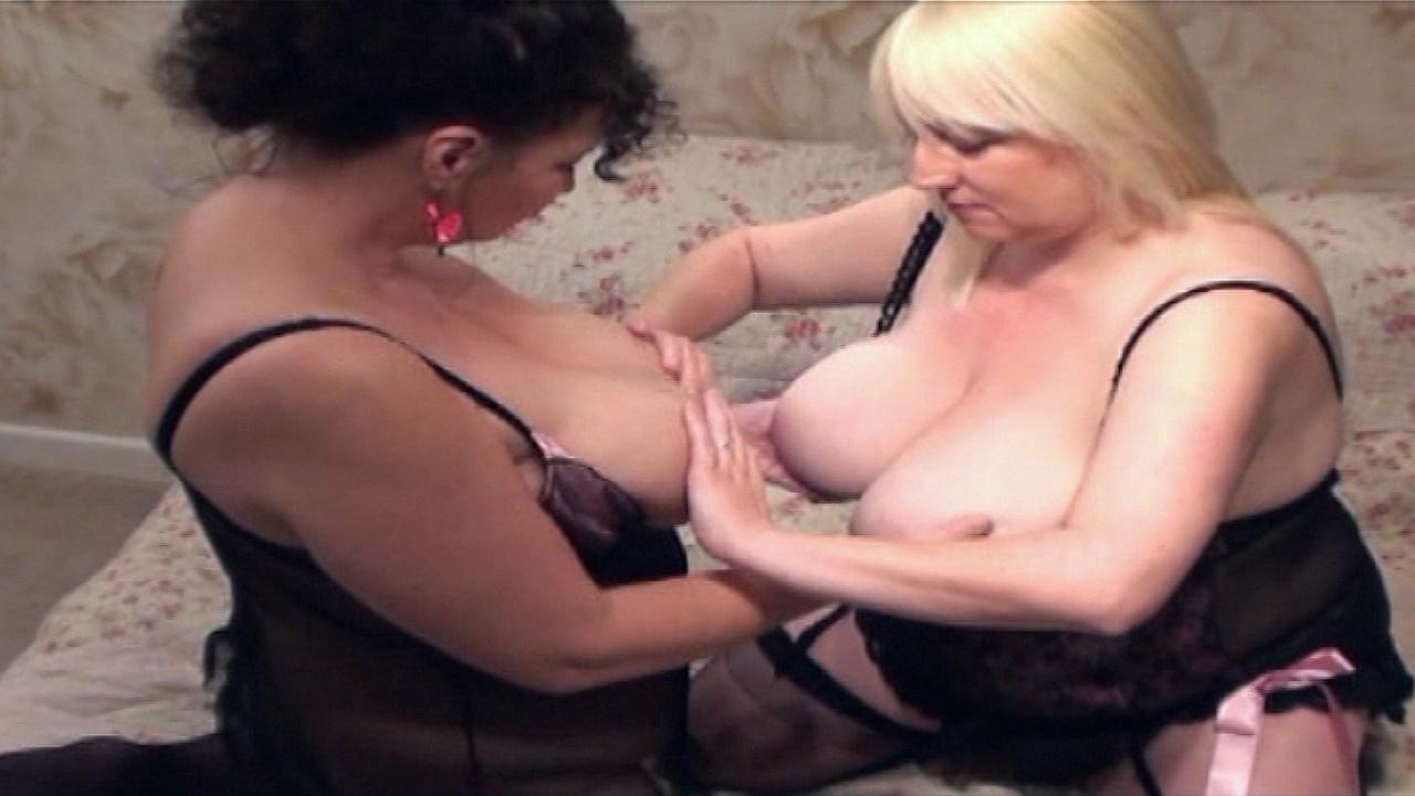 Huge boob fun with Jo Juggs and Kim